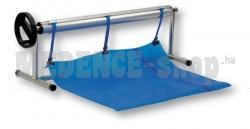 Hordozható csörlőkészlet T alakú lábakkal és teleszkópos nyéllel - 2,7–4,4 m