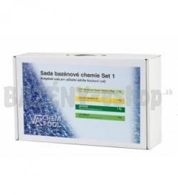 Set1: BST 1 kg, chlór granulát 1 kg, pH plus 1 kg, pH mínus 1,5 kg