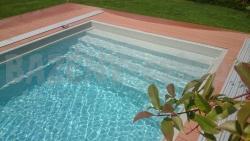 Bazén TREND so širokým schodiskom s protišmykovou úpravou