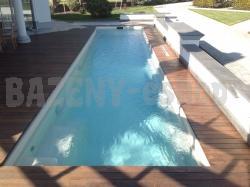 bazén FAST LANE - ideálny pre športové plávanie