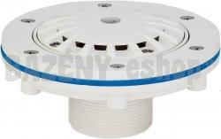 Podlahová tryska KRIPSOL - 14 m3 / h, uzatvárateľná 0-100%, pre fólie