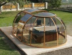 vírivkové prestrešenie Spa Sunhouse