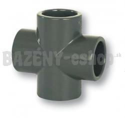 FIP PVC tvarovka - kríž 50 mm