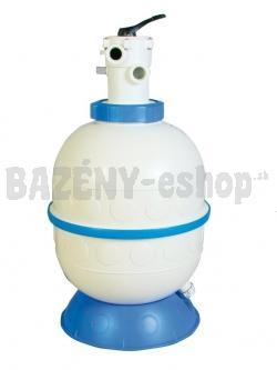 Pieskový filter KIT GRANDA 600, 14 m3/h, horný, 6 cestný top ventil
